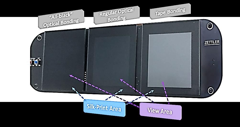 zettler display optical bonding
