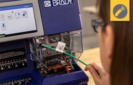 stampante etichettatrice BradyPrinter A5500